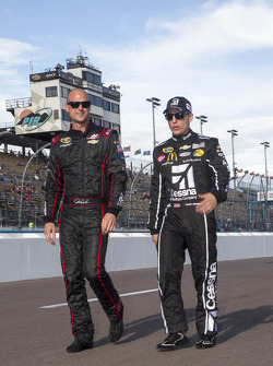 Josh Wise and Jamie McMurray