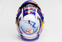 The helmet of Daniel Ricciardo, Red Bull Racing