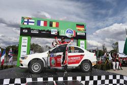 Massimiliano Rendina and Mario Pizzuti, Mitsubishi Lancer Evo X