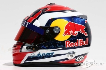 The helmet of Daniil Kvyat, Scuderia Toro Rosso