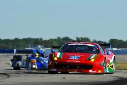 #51 Spirit of Race Ferrari 458 Italia: Matt Griffin, Jack Gerber, Michele Rugolo, Marco Cioci