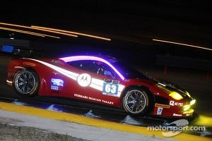 #63 Scuderia Corsa Ferrari 458 Italia: Alessandro Balzan, Jeff Westphal, Stefan Johansson, Lorenzo Case