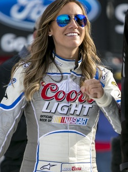Coors Light Pole girl