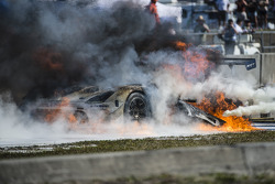 TUSC: Major fire for the #33 Riley Motorsports SRT Viper GT3-R