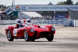 HoF Charity Laps: Ferrari 250 Testa Rossa driven by Derek Bell