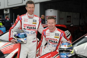 Honda Yuasa Racing duo Matt Neal and Gordon Shedden