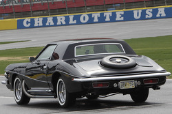 Dale Earnhardt Jr. drives Elvis' prized 1973 Stutz Blackhawk III