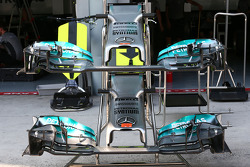 Mercedes AMG F1 W05 front wings