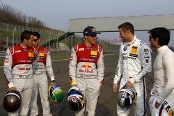 Timo Scheider, Audi Sport Team Abt Sportsline, Audi A5 DTM, Martin Tomczyk, BMW Team Schnitzer BMW M4 DTM, Bruno Spengler, BMW Team Schnitzer BMW M4 DTM