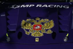 SMP Racing Ferrari detail