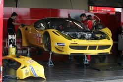 #81 Kessel Racing Ferrar F458 Italia: Kola Aluko, Thomas Kemenater, Matteo Cressoni