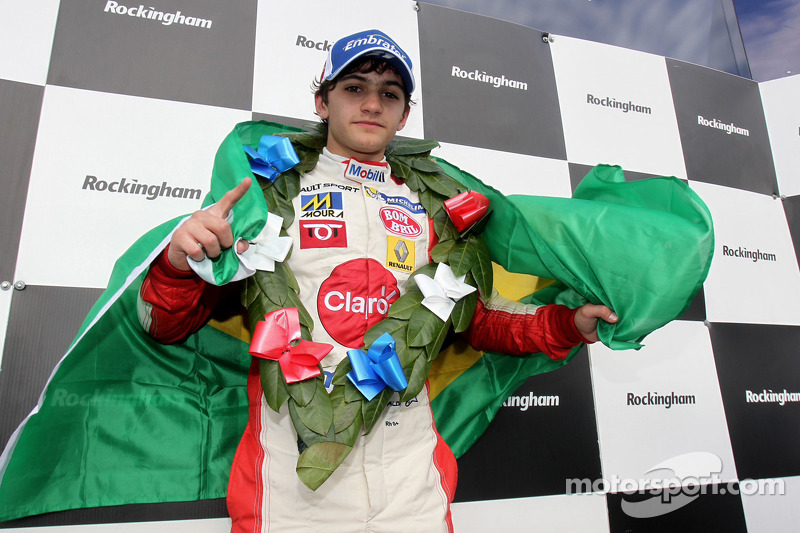 Race winner Pietro Fittipaldi