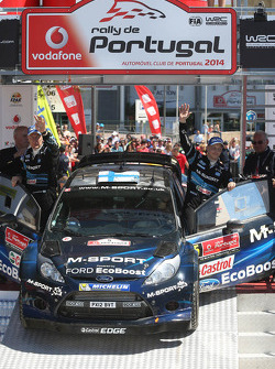 Second place Mikko Hirvonen and Jarmo Lehtinen, M-Sport Ford Fiesta WRC