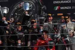 Pro-Cup podium: winners Gregoire Demoustier, Alexandre Prémat, Alvaro Parente