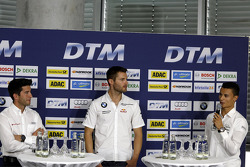 Mike Rockenfeller, Audi Sport Team Phoenix, Martin Tomczyk, BMW Team Schnitzer, Pascal Wehrlein, Mercedes AMG DTM-Team HWA