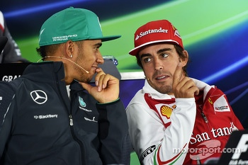 FIA Drivers press conference