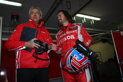 Marco Calovolo, Engineer of  James Thompson, LADA Sport Lukoil and  James Thompson, Lada Granta 1.6T, LADA Sport Lukoil