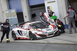 #14 MRS-GT-Racing McLaren MP4-12C GT3: Florian Spengler, Ryan Sharp