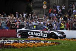 Budapest Street Parade, Gianni Morbidelli, Chevrolet RML Cruze TC1, ALL-INKL_COM Munnich Motorsport