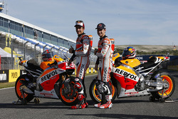 Marc Marquez and Dani Pedrosa
