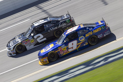 Brian Scott and Chase Elliott