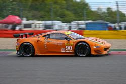 #90 8Star Motorsports Ferrari F458 Italia: Enzo Potolicchio, Gianluca Roda, Paolo Ruberti