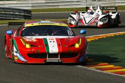 #81 AF Corse Ferrari F458 Italia: Michele Rugolo, Michele Rugolo, Andrea Bertolini