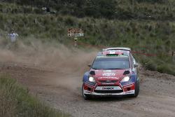 Nicolas Fuchs and Fernando Mussano, Ford Fiesta R7