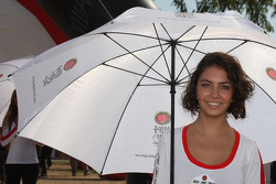 Lovely umbrella girl