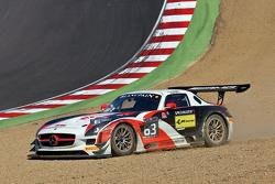 #63 Fortec Motorsports Mercedes SLS AMG GT3: Miguel Toril, Armaan Ebrahim