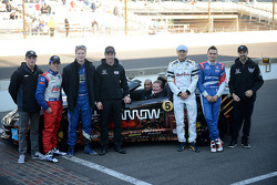 Sam Schmidt drives at Indy