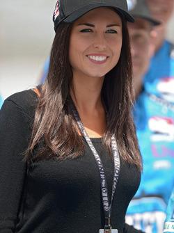 Kirsten Dee, girlfriend of James Hinchcliffe