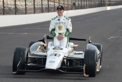 Polesitter photoshoot: Ed Carpenter, Ed Carpenter Racing Chevrolet