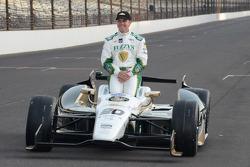 INDYCAR: Polesitter photoshoot: Ed Carpenter, Ed Carpenter Racing Chevrolet