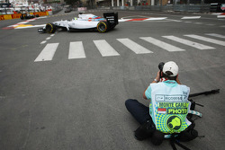 Jamey Price, Photographer, shoots Felipe Massa, Williams FW36