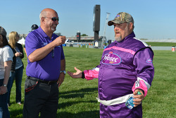 Bobby Rahal and Larry the Cable Guy