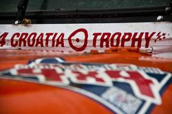 Croatia Trophy signage