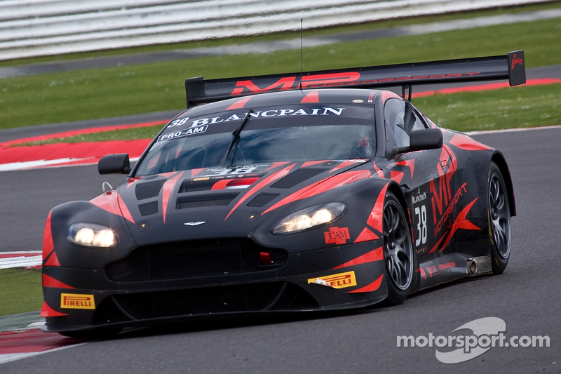 #38 MP Motorsport Aston Martin Vantage GT3: Mark Poole, Joe Osborne, Richard Abra