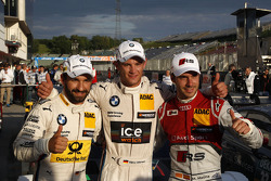 Pole for Marco Wittmann, BMW Team RMG BMW M4 DTM, 2nd Timo Glock, BMW Team MTEK BMW M3 DTM, 3rd Miguel Molina, Audi Sport Team Abt Audi RS 5 DTM