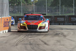 #45 Flying Lizard Motorsports Audi R8 LMS: Nelson Canache Jr., Spencer Pumpelly