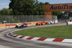 Will Power, Team Penske Chevrolet Simon Pagenaud, Schmidt-Hamilton Motorsports Honda James Hinchcliffe, Andretti Autosport Honda