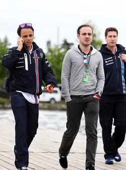Felipe Massa, Williams with his brother Dudu