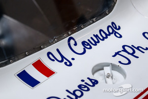 Visit of Courage Compétition: Courage Le Mans prototype cars