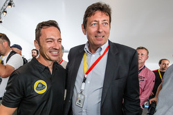 Lotus T129 LMP1 presentation: Christophe Bouchut with Gérard Neveu, CEO of the FIA WEC