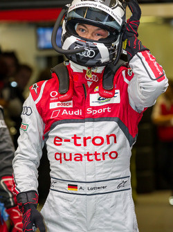 Andre Lotterer prepares for his night stints