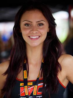 PWC: Pirelli World Challenge promotional girl