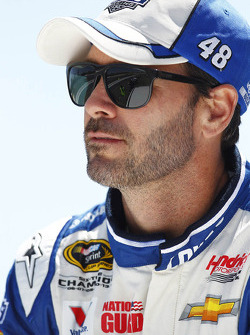 NASCAR-CUP: Jimmie Johnson, Hendrick Motorsports Chevrolet