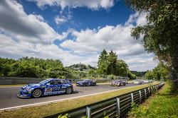 Start: #205 Mathilda Racing Volkswagen Scirocco GT-24: Michael Paatz, Klaus Niedzwiedz, Johannes Stuck, Wolfgang Haugg