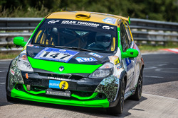 #147 MSC Sinzig e.V. im ADAC Renault Clio 3: Rolf Weissenfels, Dietmar Hanitzsch