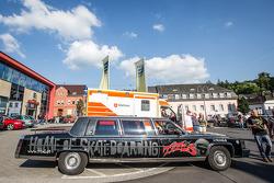 Cadillac limo in Adenau